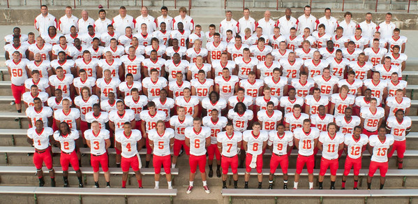 Ferris Football Media Day - Team & Individual