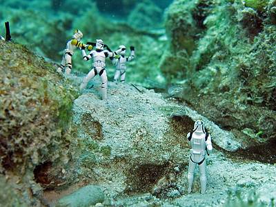 Star Wars Storm Troopers - Bonaire 2013