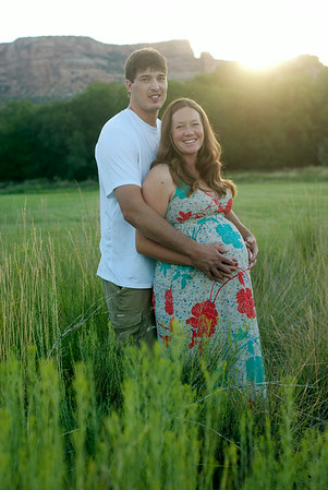 Mike and Cassie Maternity