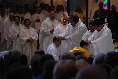 Priestly Ordination, Austin Diocese, 2009