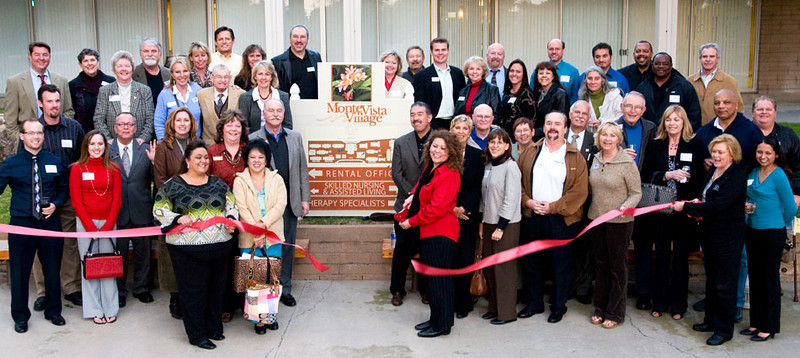 Monte Vista Village Mixer and Ribbon Cutting
