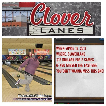 Cloverlanes 4-19-13 Friday