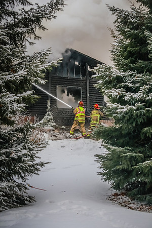 MN Horse and Hunt Club Fire