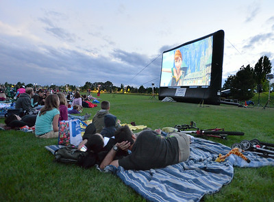 """""""Frozen"""" at Movies in the Park"""