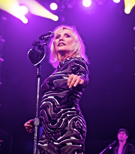 Blondie  at Amnesty international Concert  Barclays