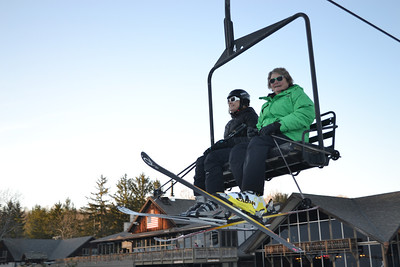 Opening Day 12-14-12: First Chair and Shred Session