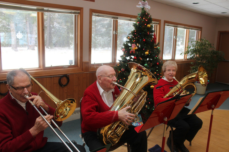 Brass Trio at Senior Center