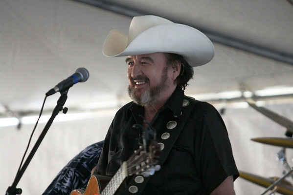 Johnny Bush at Catfish Festival