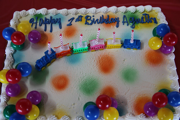 Auggie's 1st Birthday Party