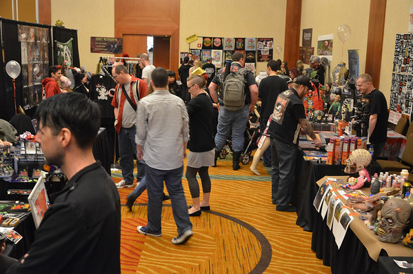 Crypticon 2014 General Show and Floor Pictures