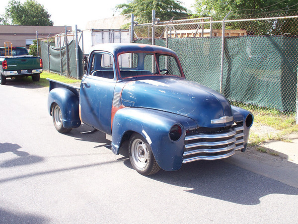 50 Chevy Truck Curtis