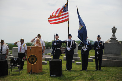 New Berlin Memorial Day Ceremony 2014