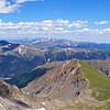 Panoramic view of Torreys Peak and its northeast basin, Colorado Front Range.