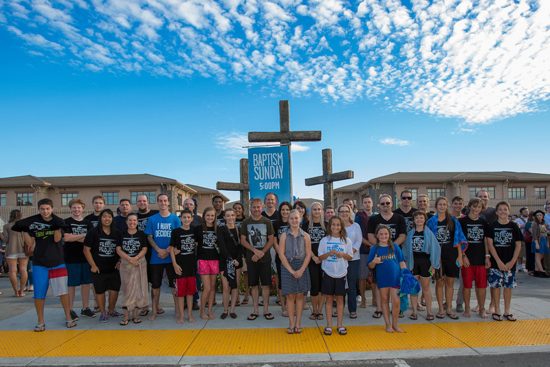 All Church Baptism(Right Pool) - Sept 29, 2013
