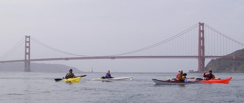 Bay Area Kayak Classes & Trips