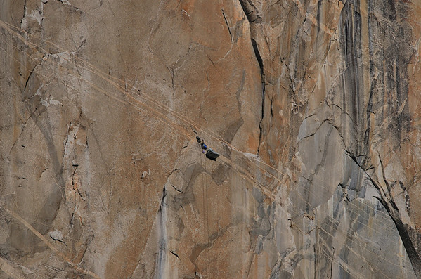 Dihedral Wall, El Cap, YV 12-31-13_ 1-1-14