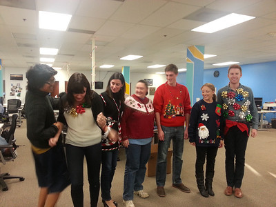 R77 Ugly Sweater Contest 2012.12.20