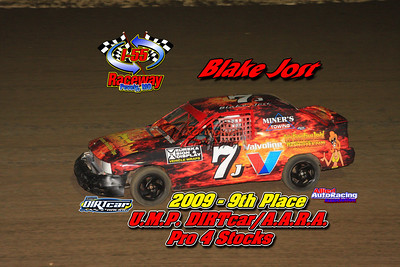 2009 Top 10 Track Point Standings