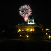 Fireworks over the Capitol in Pierre