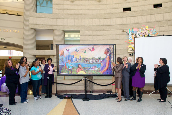Community Mosaic Mural Unveiling