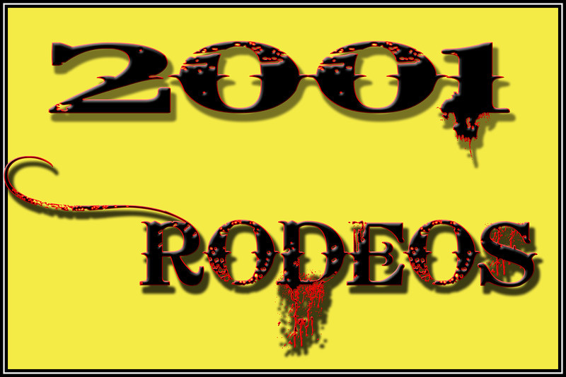 2001 RODEOS