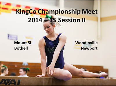 KingCo Championship Gymnastics Meet Session @ Newport II