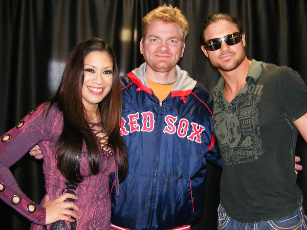 Melina and John Morrison