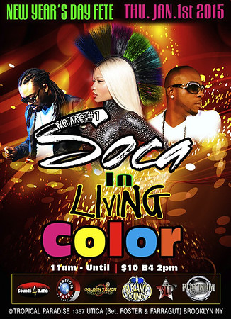 01/01/15 Soca In Living Color