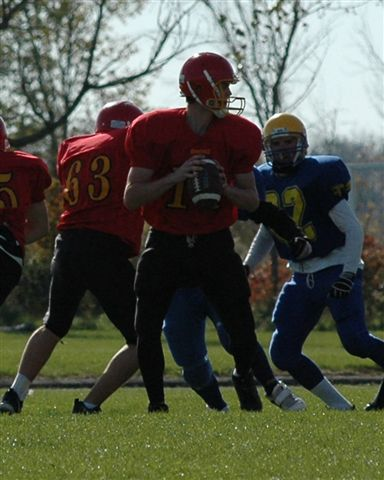 2005-Football October 21 Caledonia VS  Hagersville