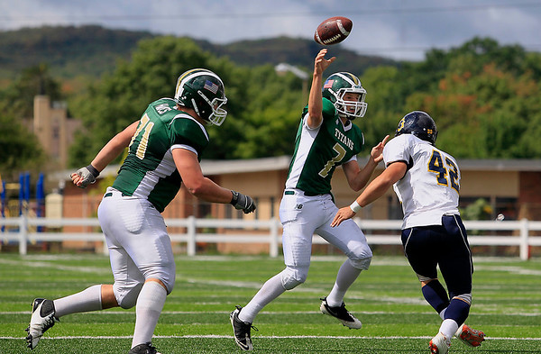 Football: TCW vs Gaylord, Sept. 8, 2012