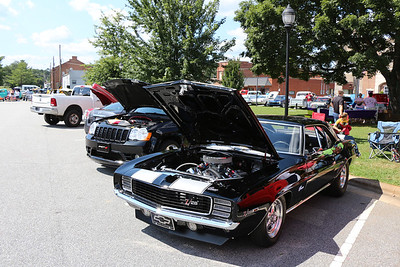 Downtown Gibsonville Cruise-In - Gibsonville, NC - 08/24/2013