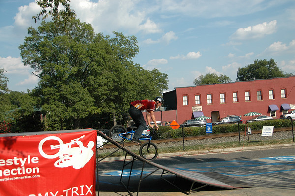 2009 Norcross Crit BMX Stunt Team