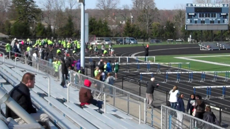Video - Aurora at Twinsburg - 4-16-2014 - 100M Hurdles