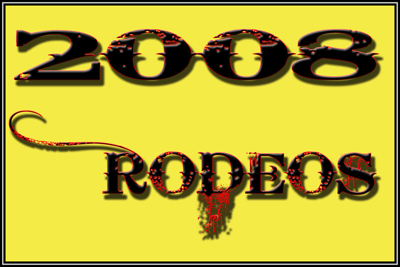 2008 RODEOS