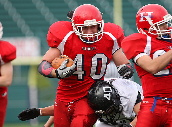 Hornell Red Raiders v. LeRoy Oatka Knights (Sectionals) 11-4-12