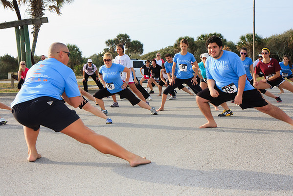 02/04/2012 - The Naked Foot 5K, St. Augustine
