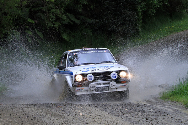 NZ Silver Fern Rally 2012