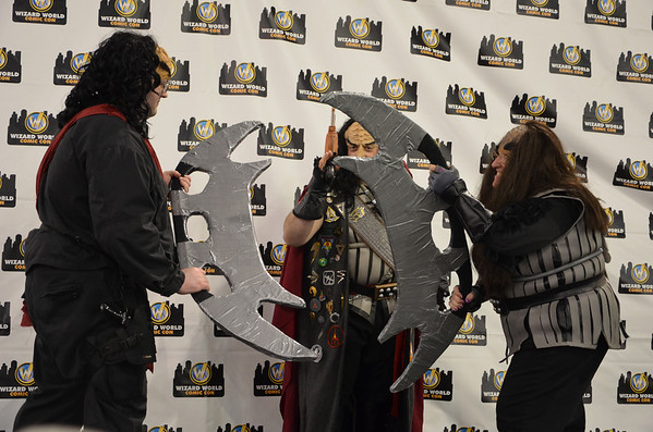 Klingon Imperial Forces At Wizard World Philly