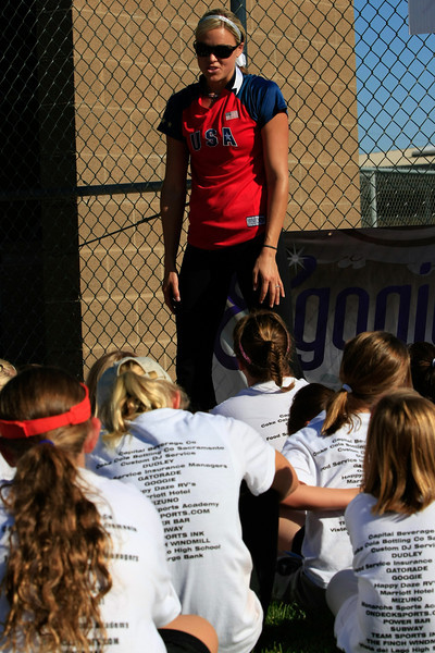 Jennie Finch Olympic Gold Medalist
