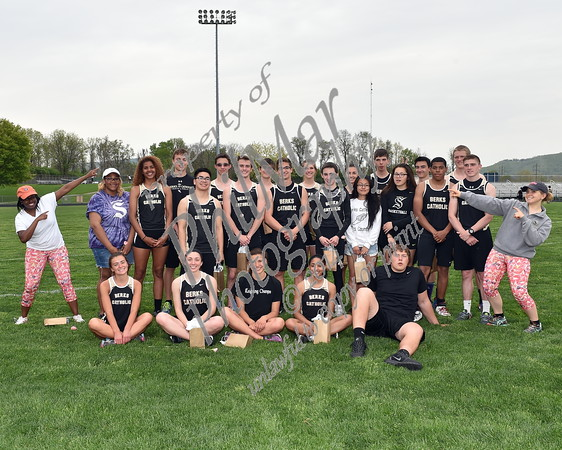 High School Track and Field 2014 - 2015