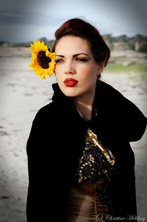 Sunflower Shoot with Lindsay Long and JoJo Briggs 2012