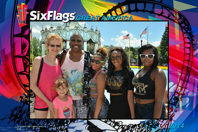 20140726 Six Flags Great America