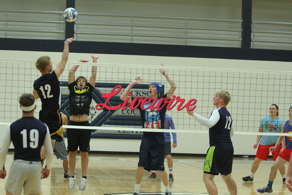 Iron Man Volleyball 2014