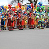 Philadelphia mummers at Lexington Patriot's Day Parade.