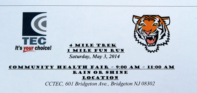 CCTEC Run Walk May 3,2014