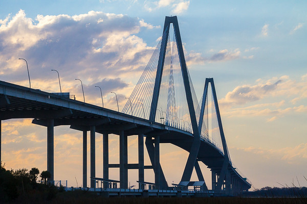 Charleston SC  -  Arthur Ravenel Bridge
