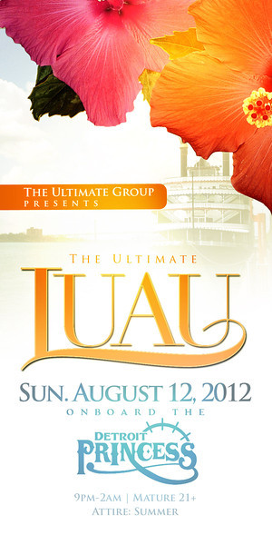 The Ultimate Luau @ The Detroit Princess