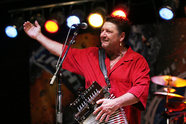 Wayne Toupes  at Catfish Festival 2007