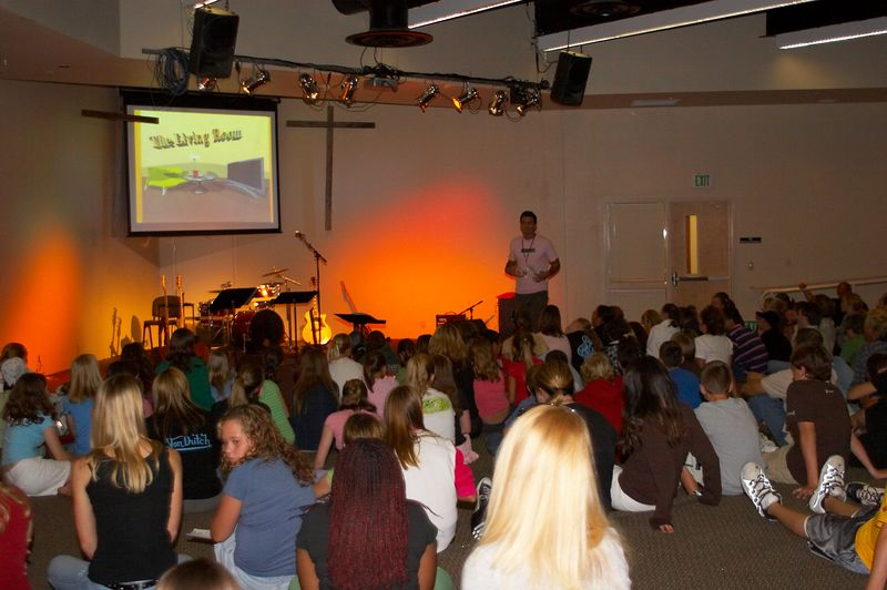 Weds Night Service - September 21, 2005