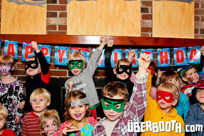 Superhero Summit 5th Birthday Party